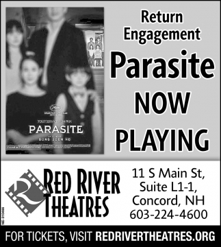 Parasite Now Playing!