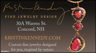 Custom Fine Jewelry Designed For You, Inspired By Nature.
