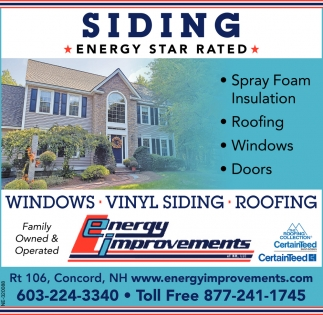 Siding Energy Star Rated