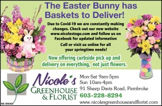 The Easter Bunny Has Baskets To Deliver!