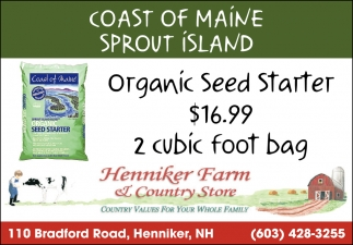 Coast Of Maine Sprout Island