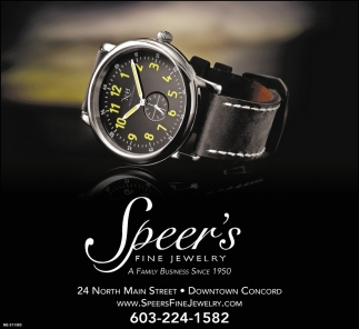 Find Fine Watches at Speer's