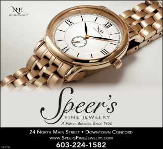 N-H Watch Company at Speer's Fine Jewelry