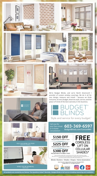 Free Cordless Lift On Cellular Shades