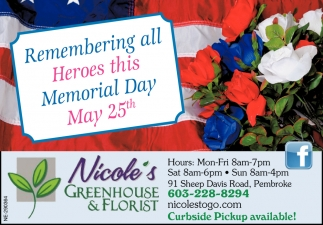 Memorial Day May 25th