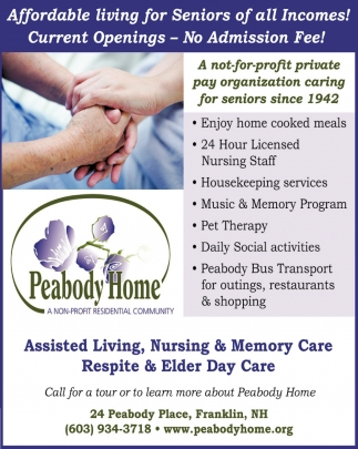Assisted Living, Nursing & Memory Care