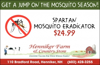Get A Jump On The Mosquito Season!