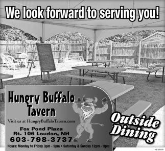 We Look Forward To Serving You!