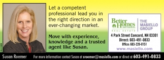 Move With Experience, Knowledge And A Trusted Agent Like Susan