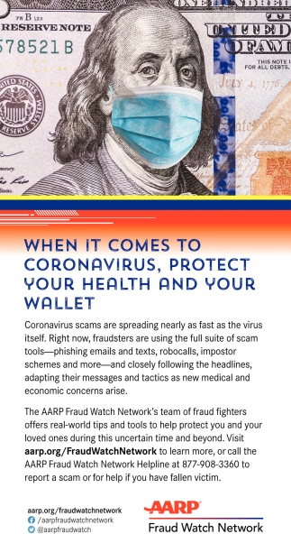 When It Comes To Coronavirus, Protect Your Health And Your Wallet