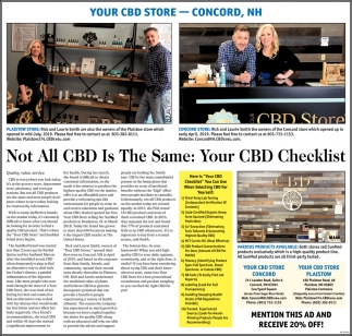 Not All CBD Is The Same: Your CBD Checklist