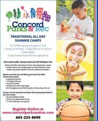 Traditional All Day Summer Camps