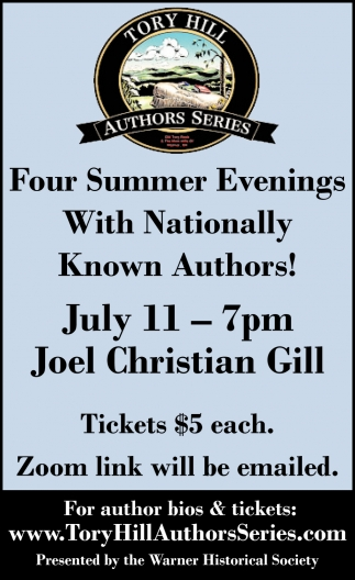 Four Summer Evenings With Nationally Know Authors!