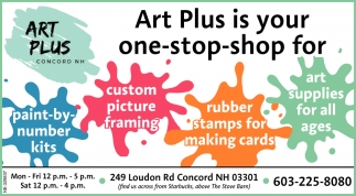 Art Plus Is Your One-Stop-Shop For Art Supplies For All Ages