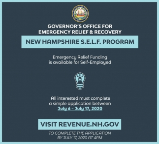 Emergency Relief Funding Is Available For Self-Employed