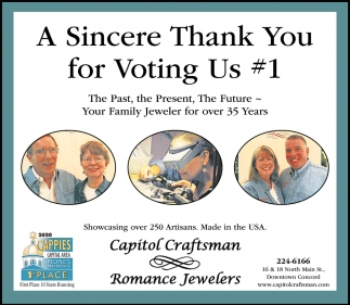 A Sincere Thank You For Voting Us #1