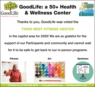 A 50+ Health & Wellness Center