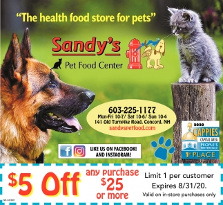 The Health Food Store For Pets