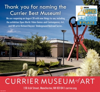 Thank You For Naming The Currier Best Museum!