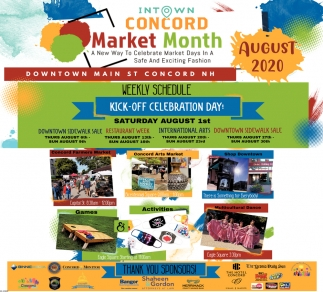 Concord Market Month
