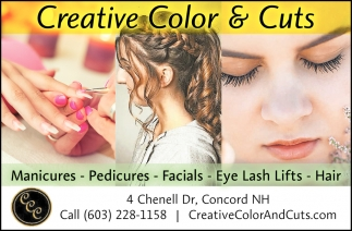 Manicures - Pedicures - Facials - Eye Lash Lifts