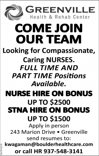 Nurse | State Tested Nurse Aide