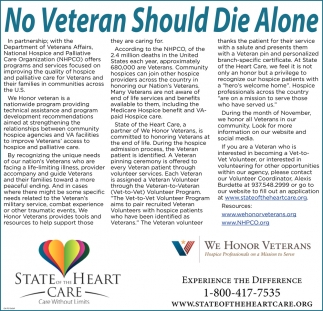 No Veteran Should Die Alone