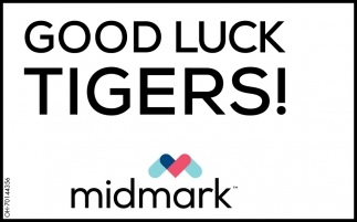 Good Luck Tigers!