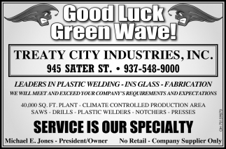 Good Luck Green Wave!