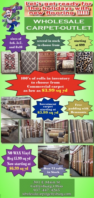 Let's get ready for the holidays with new flooring!