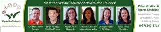 Meet the Wayne HealthSports Athletic Trainers!