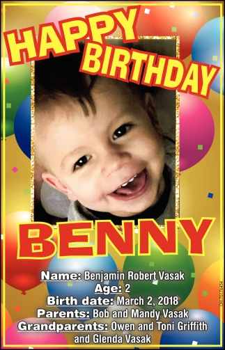 Happy Birthday Benny