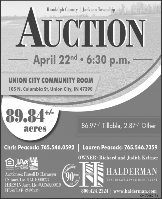 Auction - April 22