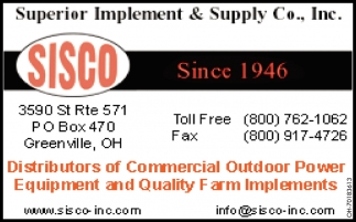 Distributor of Commercial Outdoor Power
