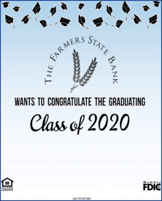 Congratulate the Graduating Class of 2020