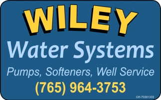 Pumps, Softeners, Well Service