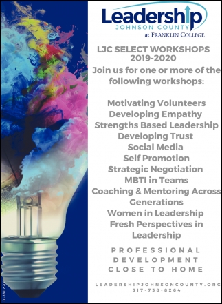 LJC Select Workshops 2019-2020