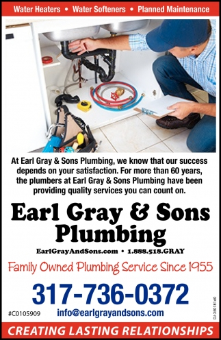 Family Owned Plumbing Service Since 1955