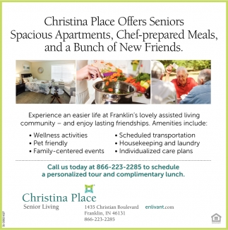 Experience An Easier Life At Franklin's Lovely Assisted KLiving