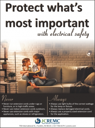 Protect What's Most Importat With Electrical Safety