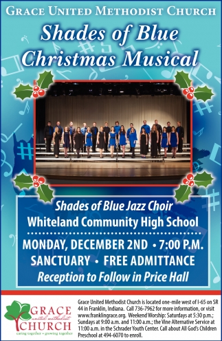 Shades Of Blue Christmas Musical
