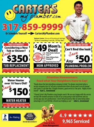 Water Heater Over 10 Years Old? Save $150