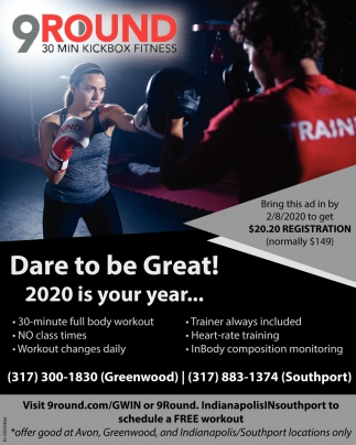 Dare To Be Great! 2020 Is Your Year...