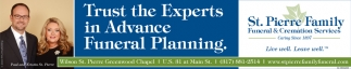 Trust The Experts In Advance Funeral Planning.