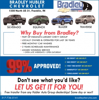 Why Buy From Bradley?