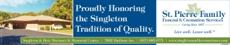 Proudly Honoring The Singleton Tradition Of Quality