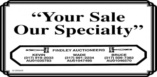 Your Sale Our Specialty