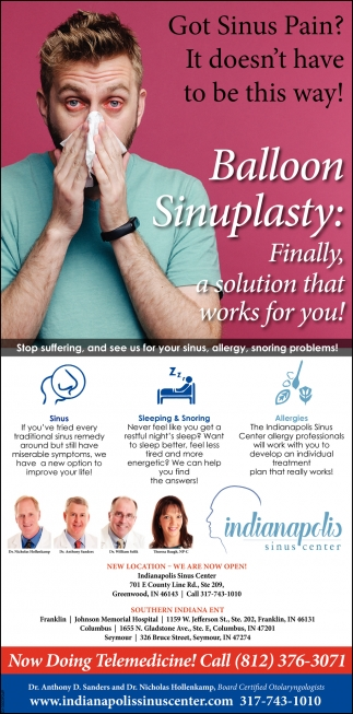Got Sinus Pain? It Doesn't Have To Be This Way!