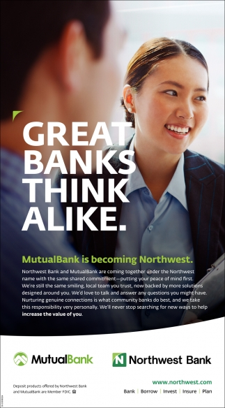 Great Banks Think Alike.