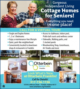 Call For A Virtual Tour!